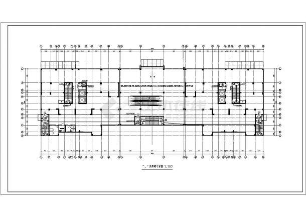 商住公寓楼全套电气设计图纸-图二