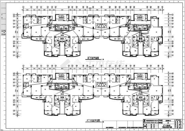 小区全套电气施工设计图纸-图二
