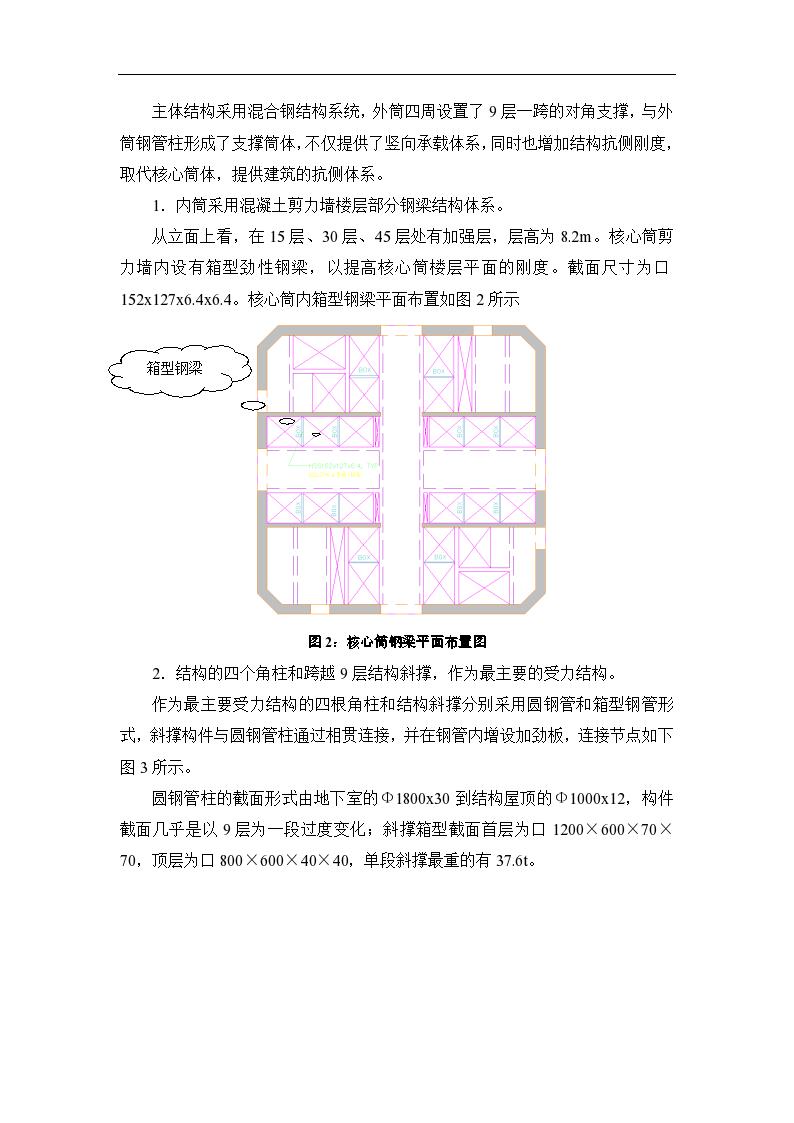 广东广州某超高层第二高楼建筑钢结构工程施工组织设计-图二