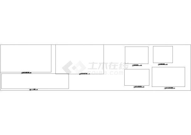 景观设计详图--亲水平台 木栈道节点施工图-图二
