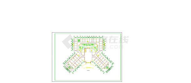 住院:12149.76m2 某医院总体规划及建筑方案设计图【总平 建筑各层平面图 立面图(无剖面及屋顶平面)】cad 图纸-图一