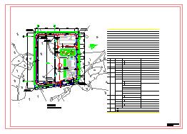 单层4362平米全钢结构化工设备厂房建筑设计施工图【含说明 1JPG鸟瞰效果】-图一