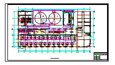 某电厂锅炉补给水处理系统全套cad设计施工图纸-图二