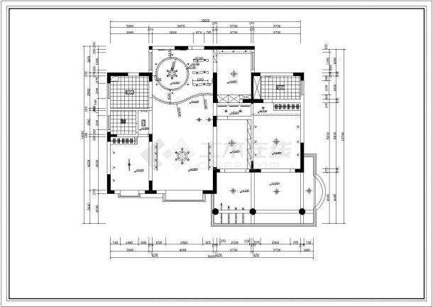 豪宅家居装修设计施工图-图一