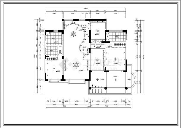豪宅家居装修设计施工图-图二