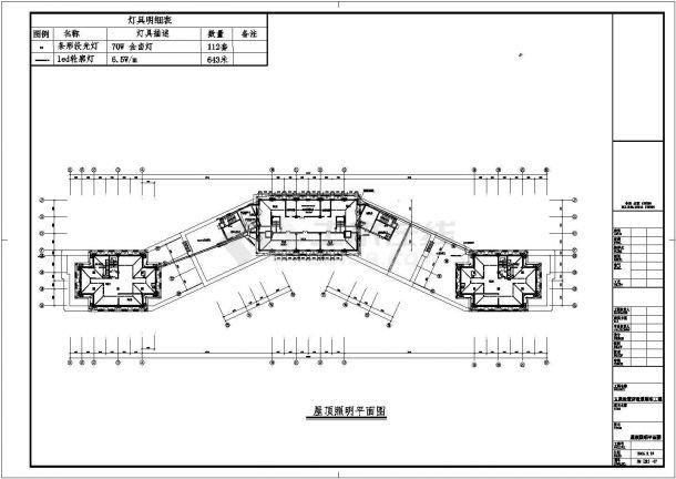 某地多层酒店电气设计方案施工cad图纸,共一份资料-图一