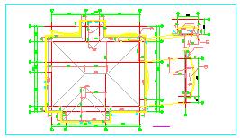 某地区别墅建筑全套cad设计施工图-图二