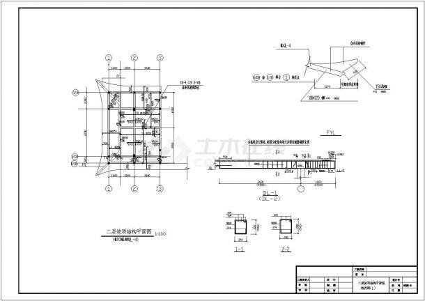 首市某古镇内详细仿古建筑施工cad设计图纸-图一