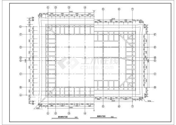 某精美的大雄宝殿建筑参考图-图二