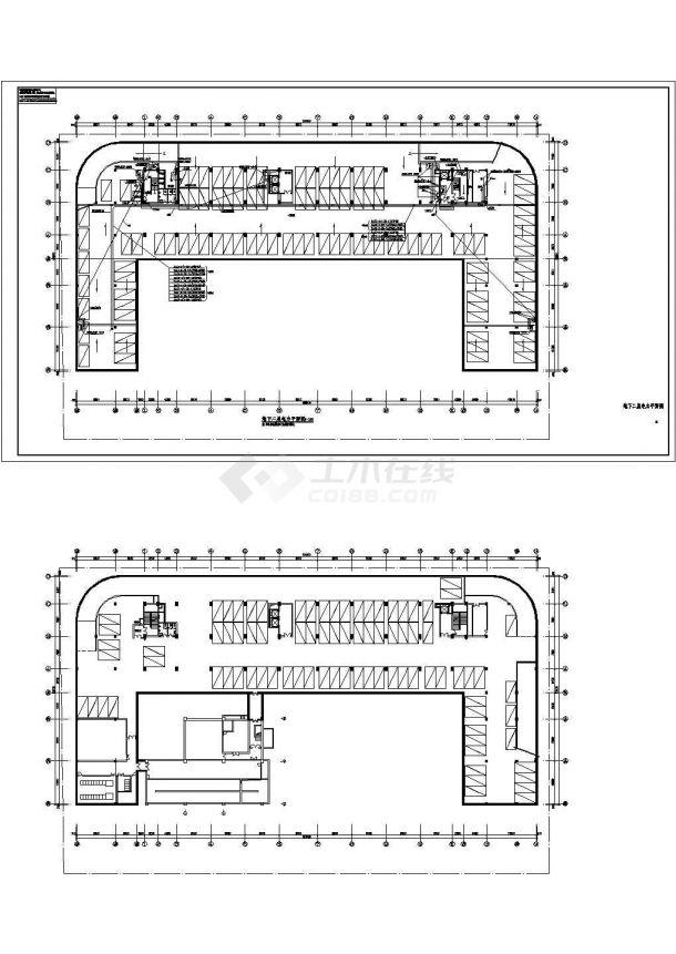 【上海】某高层研发大楼期全套电气cad建筑设计图纸-图一