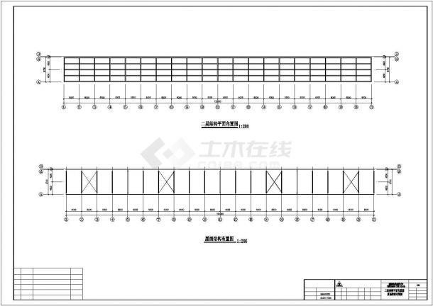 某产业园工程建筑设计施工CAD图纸-图一