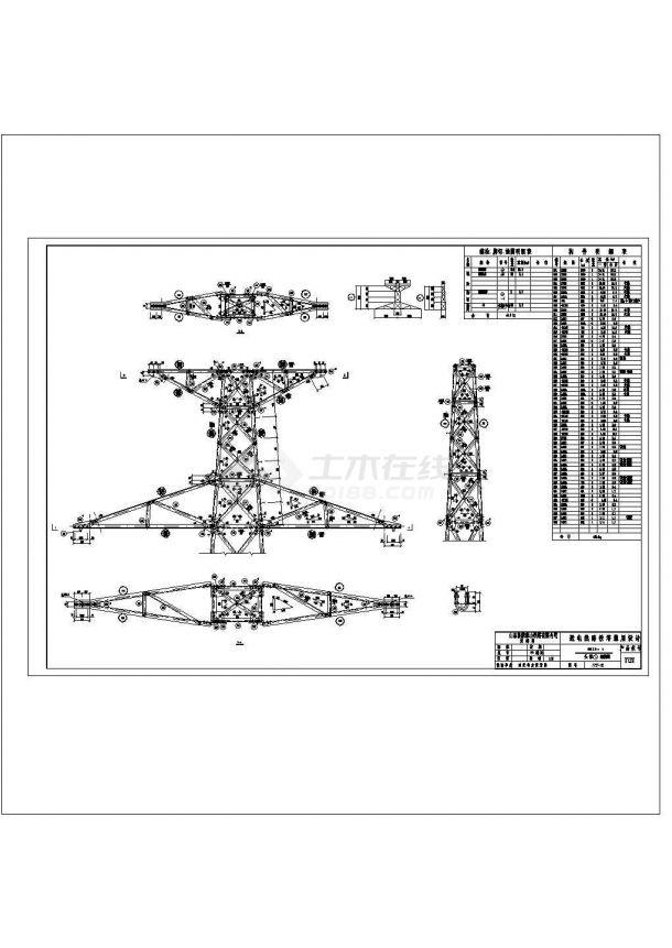 10KV低压配电房配电系统设计原理cad非常标准图纸-图一
