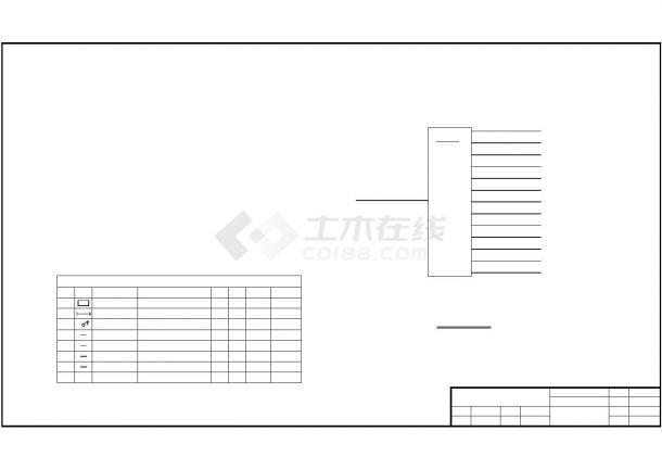 某工厂电锅炉配电系统设计cad图纸,共一份资料-图一