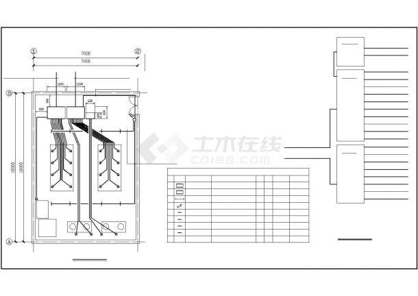 某地电锅炉配电系统设计cad图纸,共一份资料-图二