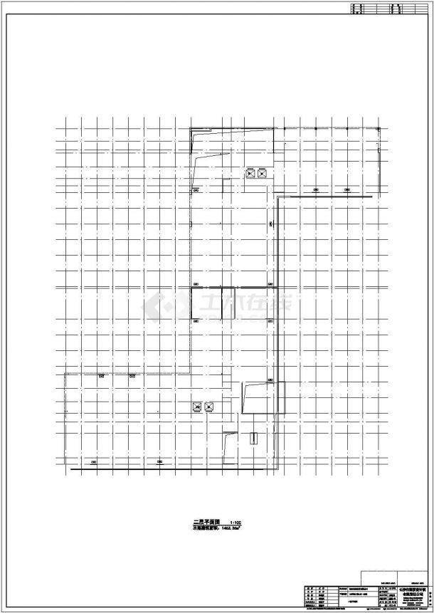 大连市周兰馨苑小区12层框架结构住宅楼建筑设计CAD图纸(2套方案)-图一