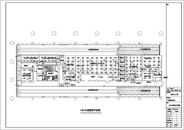 机房电气照明布线施工设计方案CAD图纸-图二