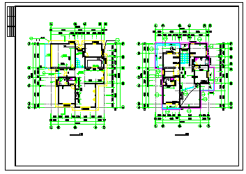 某地小别墅建筑设计cad全套图-图一