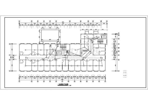 -1+8层某医院电气施工图-图二