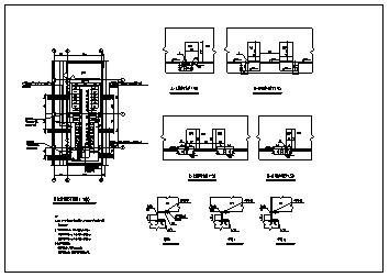 某10KV变电站全套电气施工cad图_电气施工-图二