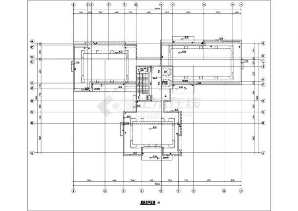 锦州市澄福花园小区9层框架结构住宅楼全套平面设计CAD图纸-图一
