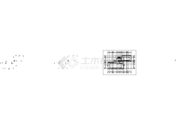 苏州市韶山花园小区9层框架结构住宅楼全套平面设计CAD图纸-图一