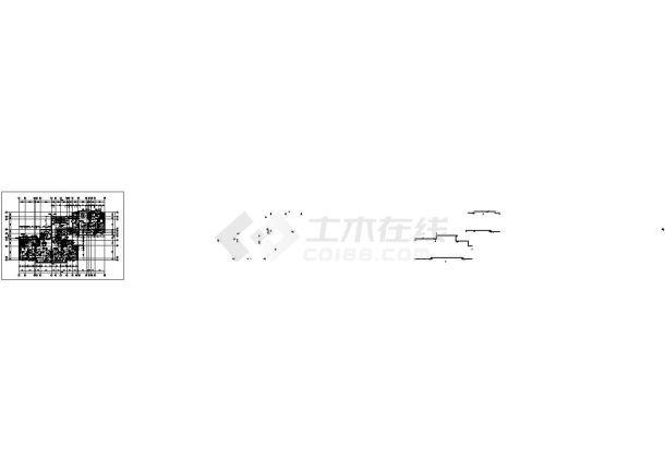 苏州市韶山花园小区9层框架结构住宅楼全套平面设计CAD图纸-图二