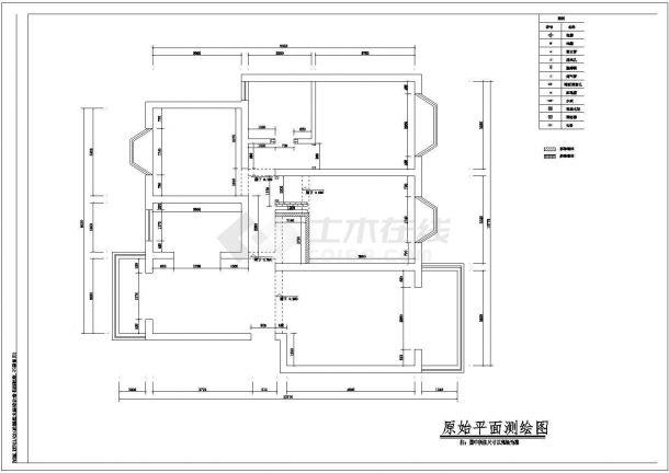 室内家居装修设计方案cad施工图大样图纸-图二