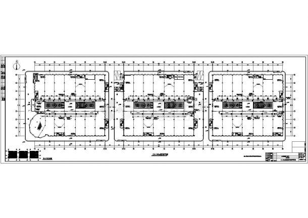 某商贸物流城空调通风全套设计cad全套施工图(含设计说明,含投标文件、负荷计算表)-图一