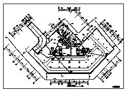 某十八层带地下层商业住宅楼电气施工cad图(含照明,火灾自动报警及消防联动控制系统设计)-图一