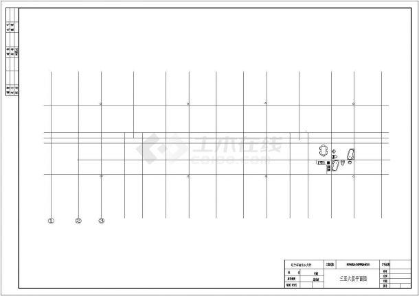 某小区钢筋混凝土框架结构多层底层为车库住宅楼施工方案全套施工图(含开题报告)-图二