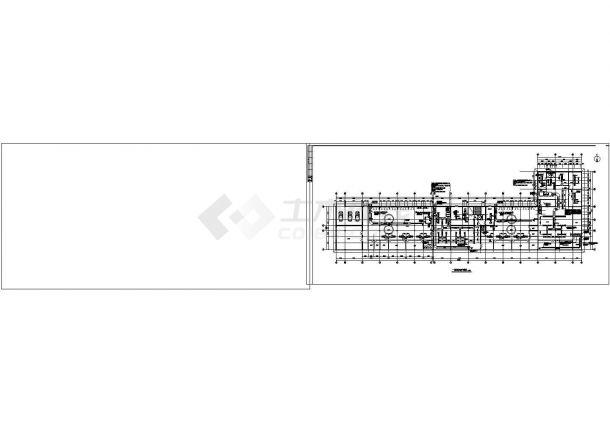 某宾馆酒店采暖通风空调设计cad图纸-图二