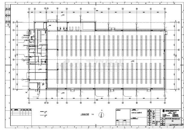 某工业区商场建筑给排水设计施工CAD图纸-图二