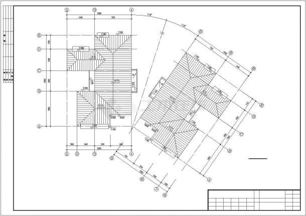 惠州市斓福嘉园小区6层砖混结构公寓住宅楼建筑设计CAD图纸-图一