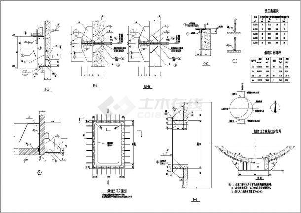 泰州60米高钢烟囱建筑底商私人住宅楼设计CAD详细建筑施工图-图一