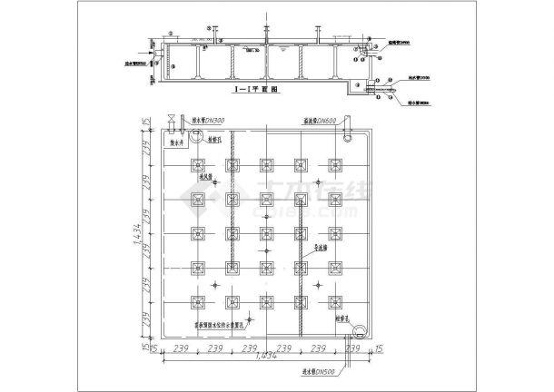 嘉兴2000方矩形清水池结构底商私人住宅楼设计CAD详细建筑施工图-图二