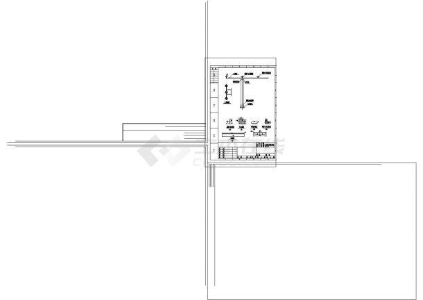 变压器室电气安装cad图纸设计-图二