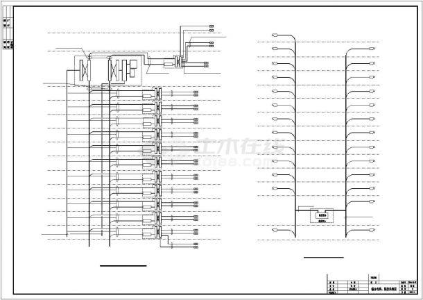 多层办公楼电气设计方案cad图纸,共一份资料-图一