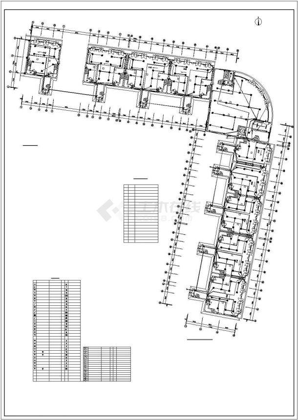 某地办公楼电气设计方案规划cad图纸,共一份资料-图一