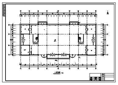 某市某六层现浇混凝土框架结构商场建筑施工cad图(含计算书、施工组织设计、结构图))-图一