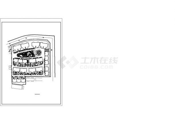 西宁市伟康路常平新村小区总平面规划设计CAD图纸-图一