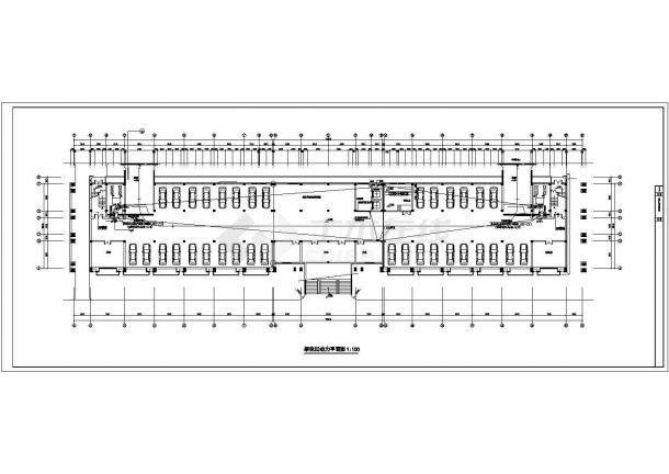 某地五层办公楼电气设计方案cad图纸,共一份资料-图一