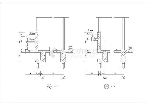 常州市御金湾小区4层砖混结构公寓住宅楼建筑设计CAD图纸(含夹层)-图二