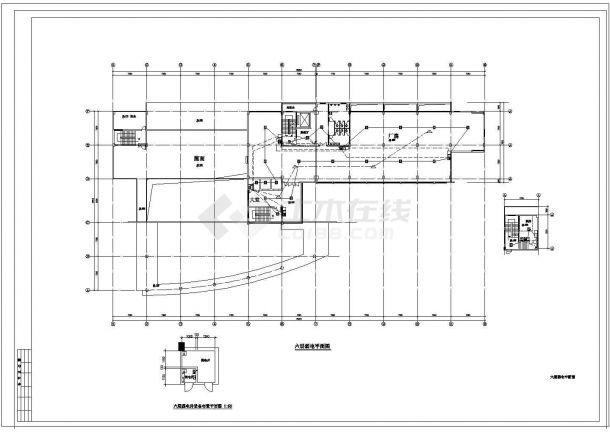 某6层综合厂房电气施工设计图-图一