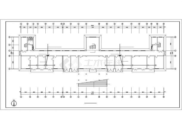 某市综合办公楼电气设计方案施工cad图纸,共一份资料-图一