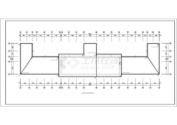 某市综合办公楼电气设计方案施工cad图纸,共一份资料-图二