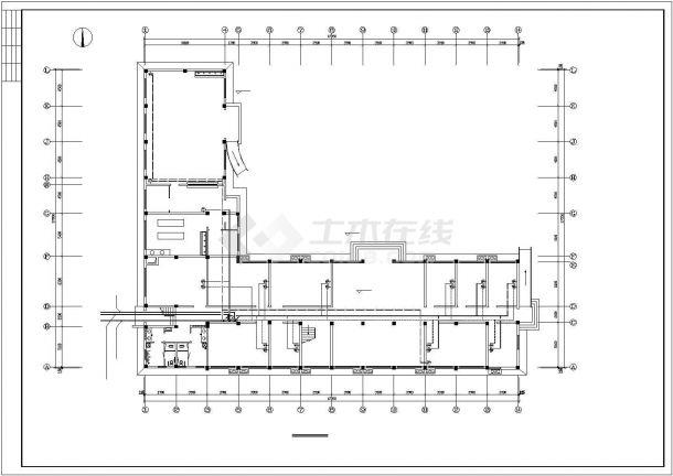 某市办公楼电气设计方案平面cad图纸,共一份资料-图一