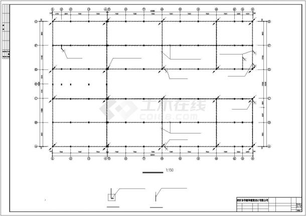 某5层厂房电气施工图设计-图一