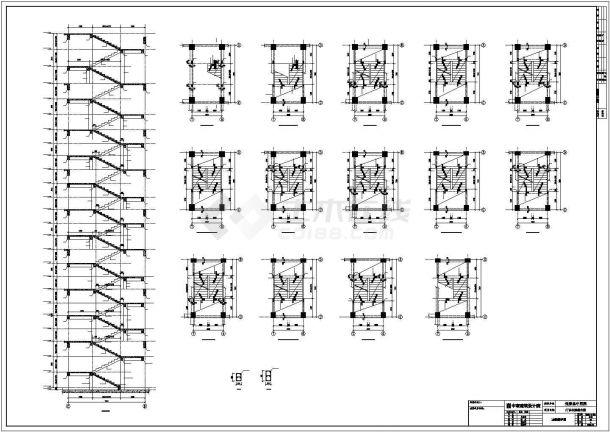 【最新】某中医院全专业设计方案CAD图纸-图二