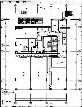 某城市四层带地下室世博会全套电气施工cad图(含弱电,消防设计)-图一