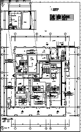 某城市四层带地下室世博会全套电气施工cad图(含弱电,消防设计)-图二